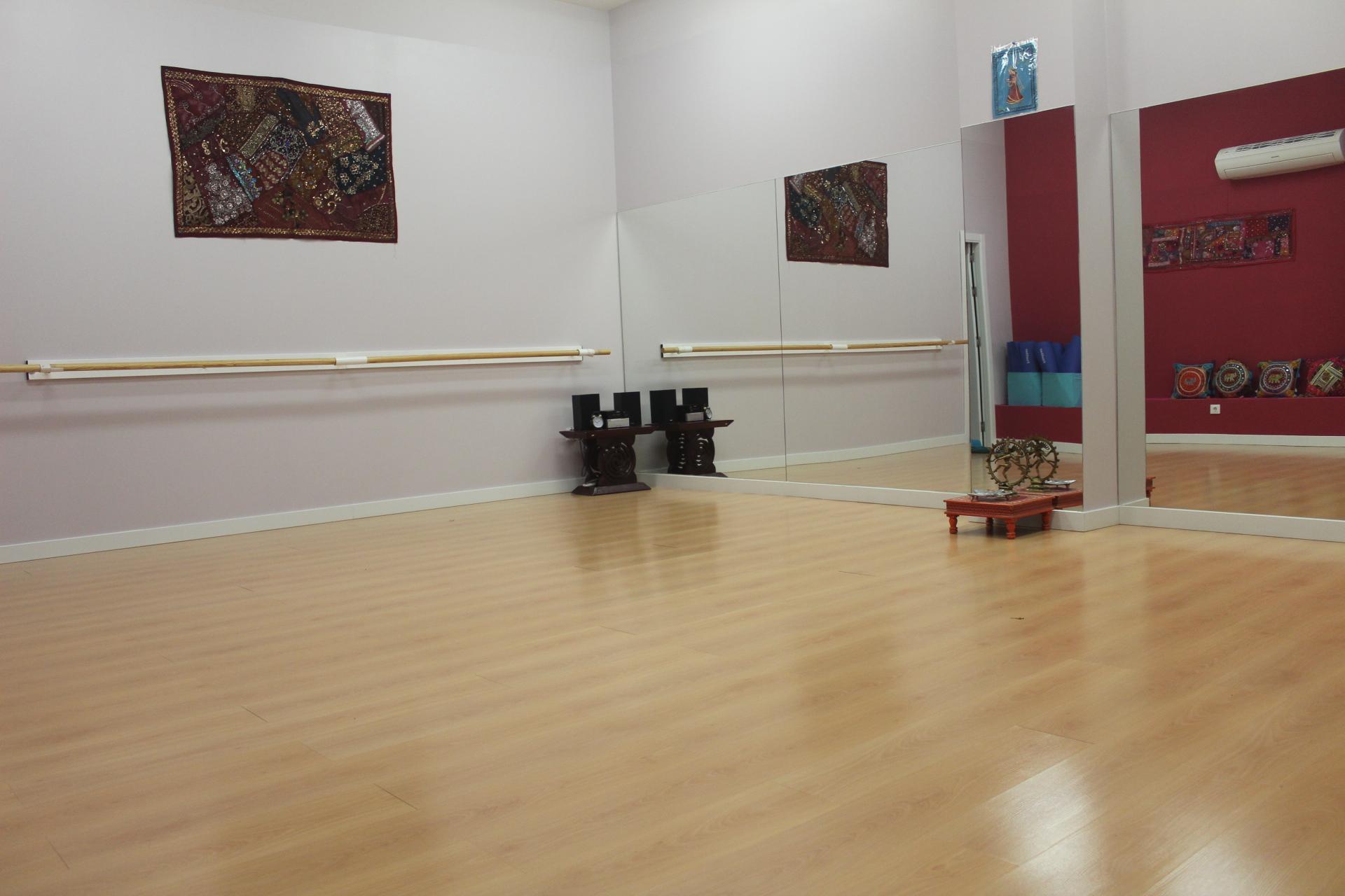 Shivadasi - Escuela de Danza - Las Tablas - Instalaciones - Aulas